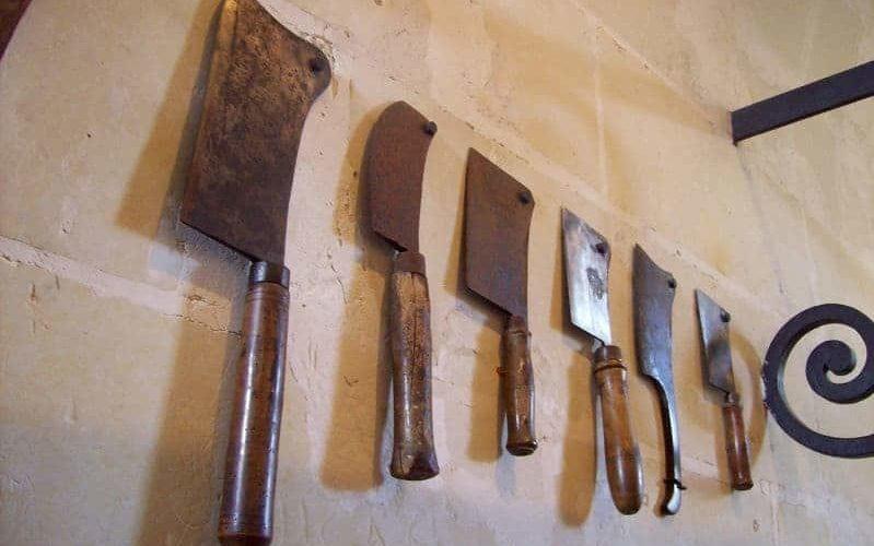 Messer Ehefrau Mord