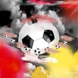 Fußballhimmel